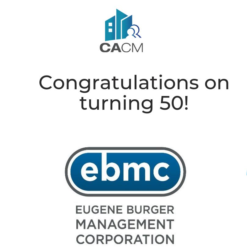 Eugene Burger Management Corporation turns 50