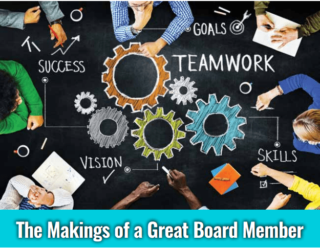 The Making of a Great Board Member