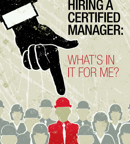 Hiring a Certified Manager